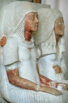 Akhenaton and Nefertiti, Le Caire, Egypt.