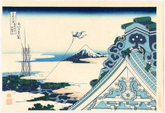 Katsushika Hokusai: Asakusa - Thirty-six Views of Mt.Fuji - Artelino