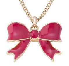 Bijou Brigitte bow necklace ♥