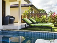 Put your feet up & enjoy the view at Mangoes Resort, Vanuatu  www.islandescapes.com.au