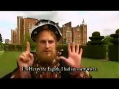 horrible histories henry the eight song(the wives of henry the eight - YouTube