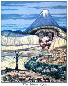 J.R.R. Tolkien's Little-Known Art. - Imgur