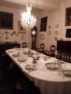 Comedor Pazo de Tor. Monforte de Lemos. S.XVIII.