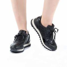 Kenton Siyah Sneakers Spor Bayan Ayakkabı