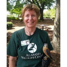 AWC ON THE ROAD!!! The Alabama Wildlife Center had a blast yesterday at the #UAB Biology Picnic! We met wonderful potential volunteers and had a great time in the sunshine with Legacy the American Kestrel!  Open 365 days a year with free admission the #Alabama Wildlife Center is the state's oldest and largest #wildlife rehabilitation and #education facility a champion for native #birds since 1977. We receive almost 2000 avian patients annually. Visit us online at awrc.org or IRL at beautiful…