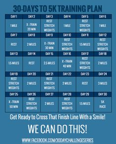 30 Days to 5K Training Challenge | Eat. Drink & be Skinny!