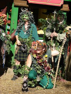 Green Men by notthatjaded, via Flickr
