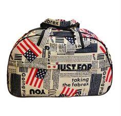 New Arrival 2016 Fashion Waterproof Luggage Handbag Women Travel Bag Portable Travel Bag High Quality