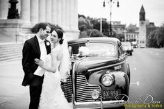 Albany Wedding with classic car