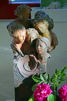 hauptsache keramik: Fast eingewachsen