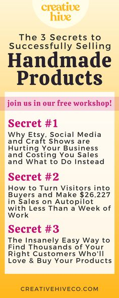 Starting An Etsy Business, Start Up Business, Business Tips, Online Business, Selling Handmade Items, Handmade Products, Selling Crafts, Bath Products, Business Branding