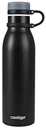 Contigo Thermalock Matterhorn Water Bottle 20 oz Black Matte *** Click image to review more details.Note:It is affiliate link to Amazon.
