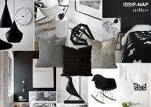 Issie-Mae Cushions - B&W