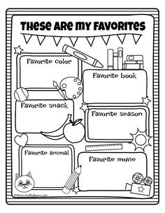 All About Me Printable Worksheet Beautiful All About Me Worksheets Fall Preschool Activities – Chessmuseum Template Library Fall Preschool Activities, First Day Of School Activities, Preschool Printables, Kindergarten Worksheets, In Kindergarten, All About Me Activities For Preschoolers, Kindergarten Graduation, Back To School Worksheets, Teacher Worksheets