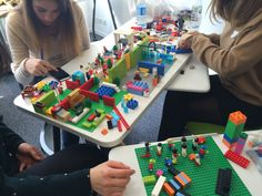 Play, Learn & Innovate ! #LEGO Serious Play happening right now at #SKEMA Business School with our students in MSc International Marketing & Business Development