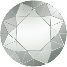 circular mirror with design - Google Search