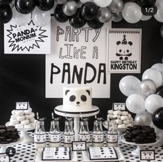 party like a panda -See more Panda Party ideas on B. Lovely Events