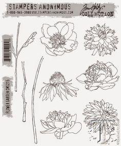 Flower Garden Watercolor Card