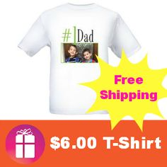 $6.00 Personalized T-Shirts with FREE shipping only this week (ends June 7) http://freebies4mom.com/tshirts/