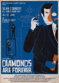 DIAMONDS ARE FOREVER Art Print by Alain Bossuyt