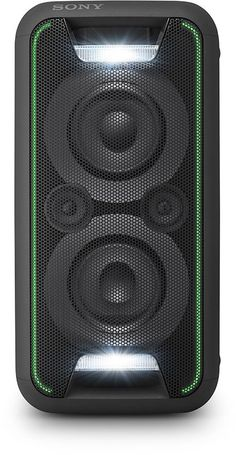 Deals week Sony High Power One Box Music System with Lighting Effects - Blue Best Selling Sony Design, Speaker Design, Boombox, Cool Bluetooth Speakers, Music System, Shops, Docking Station, Apple Tv, Party
