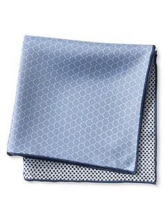 Four-in-One Military Silk Pocket Square | Banana Republic