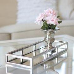 Spegelfat Lyx 40 cm - silver