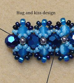 Beading TutorialPDF Beaded Bracelet por mybeads4you en Etsy