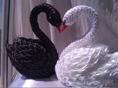 Лебеди своими руками