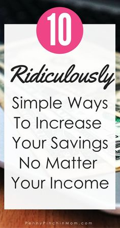 Saving Money | Building your emergency fund | Building Wealth | Getting out of Debt via @PennyPinchinMom