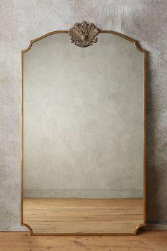 Wooded Manor Mirror - All About Decoration Summer Deco, Victorian Mirror, Antique Floor Mirror, Gold Floor Mirror, Floor Mirrors, Victorian House, Spiegel Design, Flur Design, Home Decor Ideas