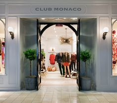00a5b8b3fae6ab The newly renovated storefront for #clubmonaco at Lenox Square in Atlanta.