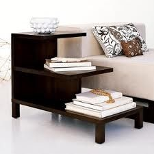 Our simple side table.