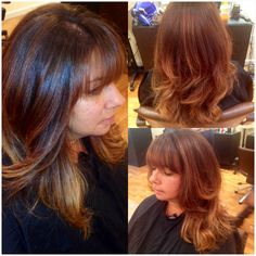 Going lighter for summer with some balyage