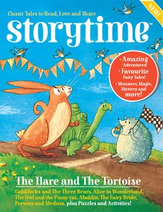 Storytime Magazine   A lovely magazine for children aged 5-8 with stories and activities.  No adverts and no tacky free toys!