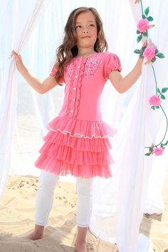Girls Designer Clothes Mim Pi Design Girls Mimpi Pink
