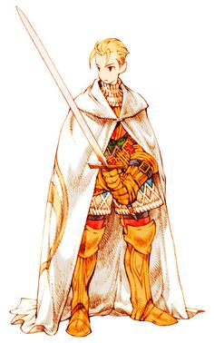 Knight (Tactics) - The Final Fantasy Wiki has more Final Fantasy information than Cid could research, FFTKnightMale.png