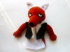Fantastic Mr. Fox Talking Hand Puppet  Pinocchio by Meoneil, $50.00