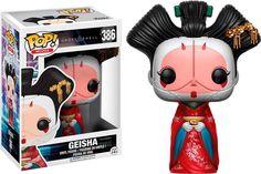 Funko - Pop! Ghost in Shell: Geisha Vinyl Figure - Multi
