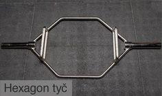 Hexagonal bar for dead lifts