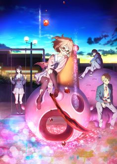 Beyond the Boundary My new favorite anime, i love everything about it! ;D