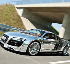 Audi A8- Chrome.