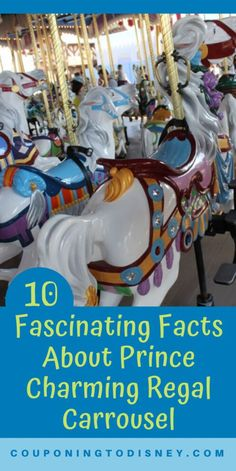 10 Fascinating Facts About Prince Charming Regal Carrousel in Disney's Magic Kingdom Disney World Rides, Disney World Parks, Disney World Planning, Walt Disney World Vacations, Fascinating Facts, Disney Magic Kingdom, Majestic Horse, Disney S, Prince Charming