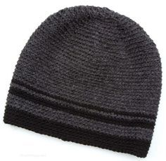 Men's beanie free crochet pattern
