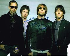 #Oasis fully signed #autographed 10 x 8 colour glossy picture - liam #gallagher,  View more on the LINK: 	http://www.zeppy.io/product/gb/2/351804412615/