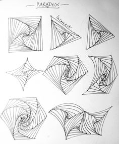 Shoshiplatypus: Zentangles Step by Step