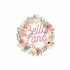 Premade Watercolor Floral Logo Design Premade Logo Flower Logo Floral Wreath Logo Boutique Logo Watercolor Flower Logo - Peach & Posey Logo Floral, My Design, Logo Design, Adobe Illustrator Cs6, Watercolor Flower, Fashion Branding, Logo Templates, Clip Art, This Or That Questions