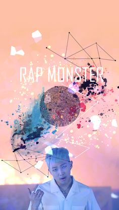....BTS?RAP MONSTER!