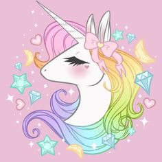 Unicorn Jems is a T Shirt designed by Lumaberry and is available at Design By Humans - djobido -