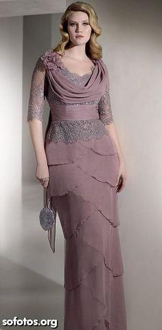 Vestido de festa moda evangelica